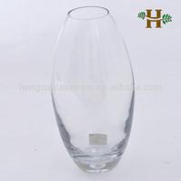 wholesale drum shape glass vase,ball shaped round glass vase craft