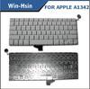 Hot sell model waterproof keyboard for macbook a1342 keyboard for apple