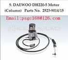 Daewoo DH220-5 DH220-7 Stepping motor (Column) for Daewoo Excavator 2523-9014/15