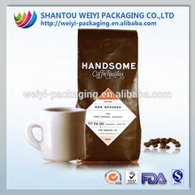 2014 Aluminum foil brazilian coffee slimming coffee