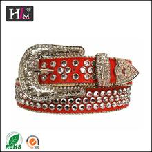 américa 2014 nueva llegada occidental para mujer cinturones de diamantes de imitación