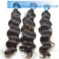 Colore dei capelli 3d, remy capelli a buon mercato brasiliano tessere fasci