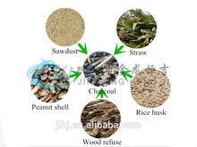 HENGJI Biomass Wood Sawdust Charcoal Briquette Machine
