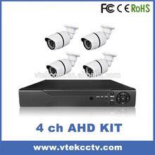 Espejo retrovisor analógico de alta definición--- precio bajo del cctv cámara domo ahd dvr kit