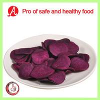 Vacuum Fried sweet purple potato chips