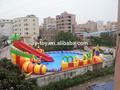 Inflável parque aquático slide- dragon slide parque aquático, inflável jogos de desporto