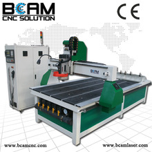 cnc router 1325, furniture making machine with ATC