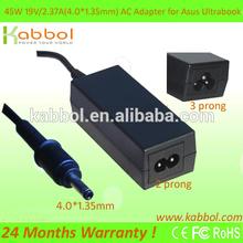 New Square Asus Taichi 21/ Vivobook F201E, Q200E, S200E 19V-2.37A AC Adapter Charger 4.0x1.35mm