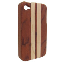 New arrival natural wood phone cases for iphone 5 5s 5g wood stand cases