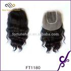 wholesale Brazilian hair closure, 100% virgin human hair ,body wave natural color