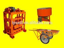 construction equipment QT40-2 used concrete block making machine for sale