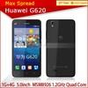 5.0'' IPS huawei g620 4g lte fdd Quad Core Android 4.3 5MP camera original phone