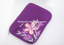 13 inch Heat transfer print neoprene laptop case