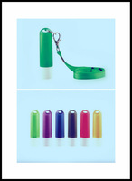 Clear empty lip balm containers/tubes with a hole,portable children lip balm tube