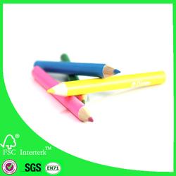 12pcs color pencil pack/mini colored pencil