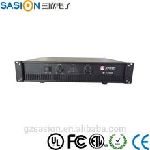 OEM OMEGA V-2500 sound amplifier subwoofer amplifier car woofer with amplifier