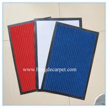 entrance carpet mat ,rubber striped flab flexible rubber striped flab mat