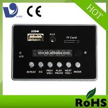 12v led driver vire usb sd mp3 player remote key pcb electronic circuit board