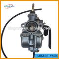 Hot vendas mikuni VM26 30 mm carburadores usado ciclomotores
