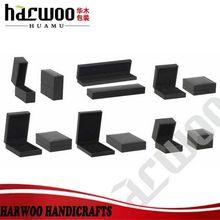 Classical cardboard black jewellery packaging box