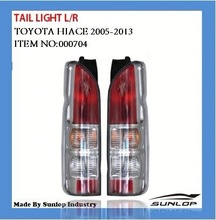 hiace accessories hiace new modle led tail light #000704 led tail light for hiace commuter van