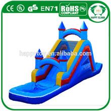 2014 HI CE hot sale PVC large water slide,water slide giant,inflatable water slide repair kit