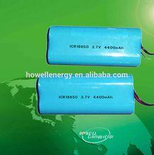 3.7v 18650 battery pack/18650 li-ion battery pack/parallel li ion 18650 battery