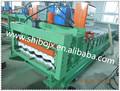 Uso completamente automático parte de control de la fábrica que vende directamente verde 752 arco azulejo rodillo que forma la máquina