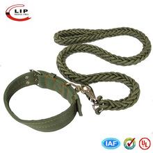 manufactory custom hemp dog collar wholesale