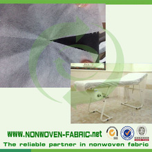 Disposable message table cover roll perforation of the fabrics