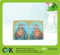 fábrica preço 3d cartões de natal da china maker