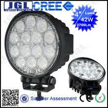 4x4 LED Auto Car Head Lamp12V/24V CE/ROHS/EMC Spot Beam And Flood Beam Car Led Mechanics 42W LED WORK LAMP LIGHT