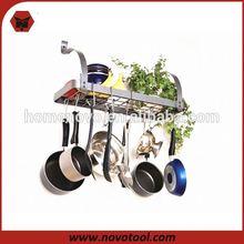 Hot Sale Single Tier Kitchen Pot Racks