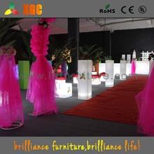 16 colors fashionable design hotel planter pot, event cooler pot, wedding lit furniture