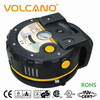 Cordless rechargeable tire inflator and air pump includes AC & DC chargers