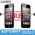 Caliente venta! Teléfono celular Protector de pantalla para el iPhone 5 / 5S / 5C ( alta calidad de japón la pantalla de vidrio templado ( OEM ODM )