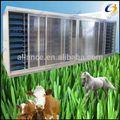 Meilleur prix orge hydroponique équipement pour la germination fourrage pour les animaux d'élevage, les bovins, chèvres nourrir.