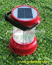 Hand Crank Solar Panel Rechargeable LED Lantern