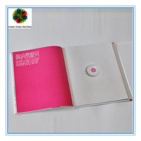 Best seller 2014 fashion cheap a4 hardcover book printing design