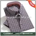 2014 venda quente homem vestido de camisa/homem vestido de camisa/homem vestido de camisa de atacado de vestuário da china