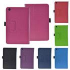 for lenovo ideatab a8-50 a5500 protective case, pu leather portfolio flip cover case