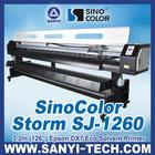 Sticker Printing Machine SinoColor SJ-1260, 3.2m With Epson DX7 Head