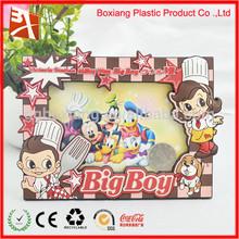 arts and craft promotional legoo digital photo frame christmas ornament wholesale promotional PVC frame photo