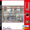 comercial de vidro porta de entrada