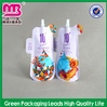 Top grade quality resealable plastic bags with spout and zipper handle