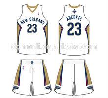new offer high quality latest custom basketball jersey design