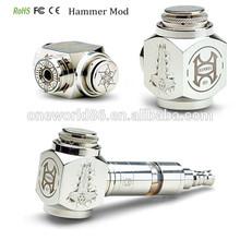 2014 hottest origin hammer mod battery 18650 kato hammer mod clone hammer clone mechanical mod