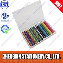 Cheap kids pencil case set mini promotional color pencil and crayon set