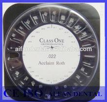 [ AiFan Dental ] Best price 5*5 20 orthodontic braces dental orthodontic ceramic bracket