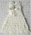 grossista casamento vestido de renda com bolero casaco menina vestido de renda